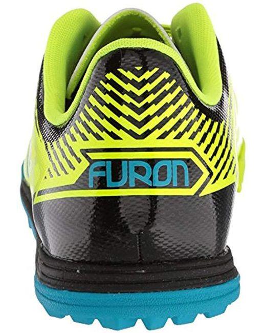 350523e137a6c ... New Balance - Yellow Furon 3.0 Dispatch Tf Soccer Shoe for Men - Lyst  ...