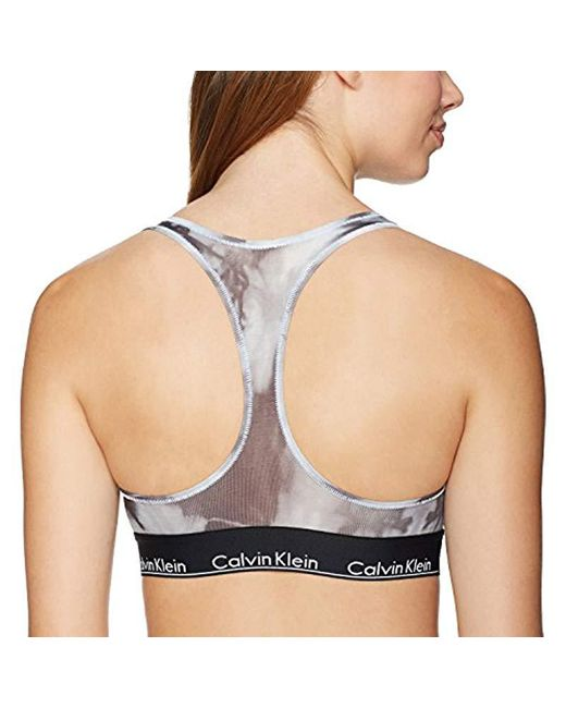 e141d85f4d ... Calvin Klein - Multicolor Modern Cotton Unlined Bralette - Lyst