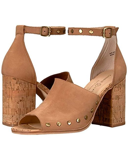 160327bbde8 Lyst - Chinese Laundry Savana Heeled Sandal in Brown - Save ...