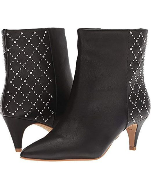 Dolce Vita - Black Dot Ankle Boot - Lyst