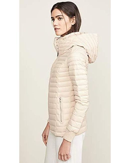 Soia /& Kyo Womens BLENDA Water Repellent Lightweight Down Jacket With Hood