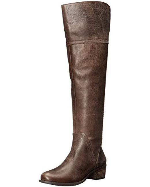 ac80722229e Lyst - Vince Camuto Bendra Riding Boot in Brown - Save 30%