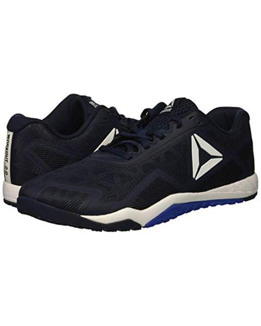 db54afdfcb3 ... Reebok - Blue Ros Workout Tr 2.0 Cross-trainer Shoe for Men - Lyst ...