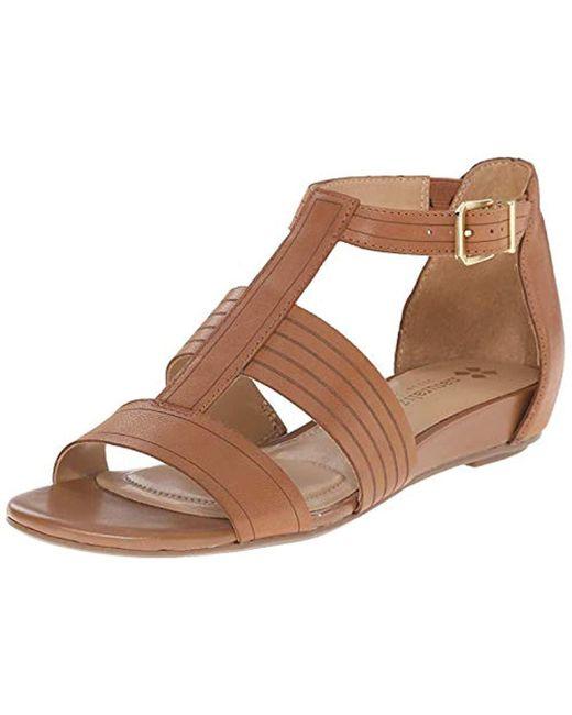 Naturalizer - Brown Longing Gladiator Sandal - Lyst