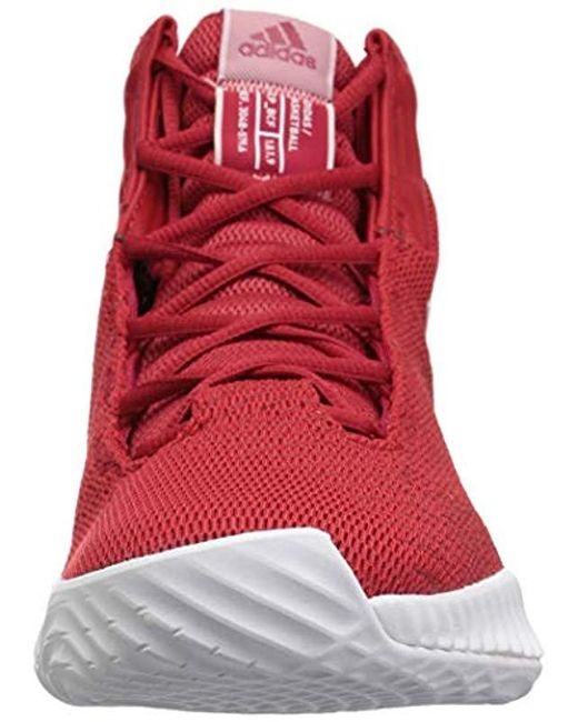 5592bc108 ... Adidas Originals - Red Pro Bounce 2018 Basketball Shoe for Men - Lyst  ...