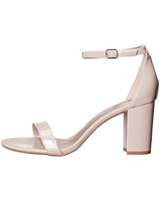 b07f973891d5 Lyst - Bandolino Armory Heeled Sandal in Natural - Save 24%