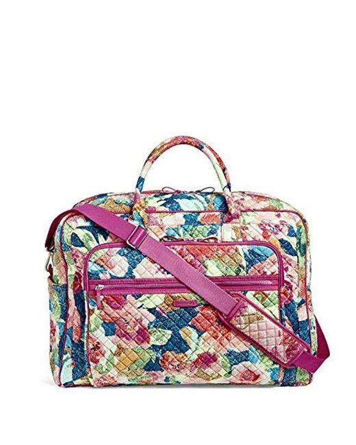 Bradley BagSignature Grand Cotton Weekender Travel Iconic Vera Yfymbv6I7g