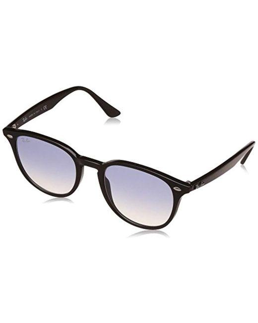 Ray-Ban - Black Rb4259 Highstreet Round Sunglasses - Lyst
