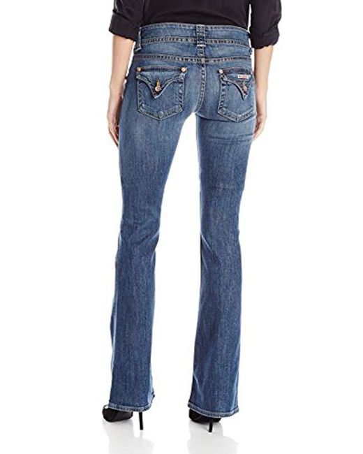 8a6b33b5307 ... Hudson - Blue Jeans Signature Boot Jean In Hackney - Lyst ...