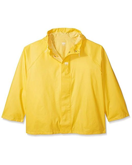 Helly Hansen - Yellow Workwear Highliner Fishing Jacket for Men - Lyst