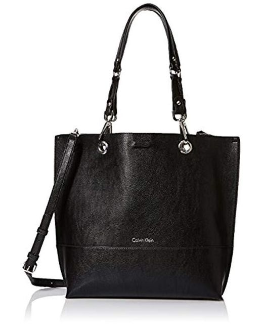Calvin Klein - Black Sonoma Reversible Novelty North/south Tote - Lyst
