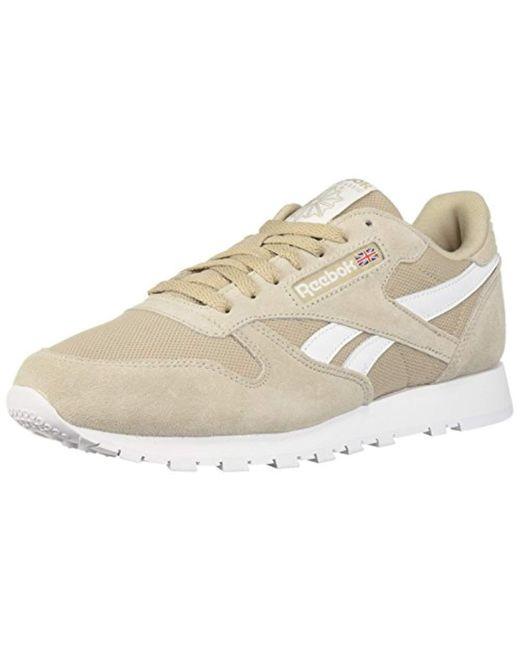 Reebok - White Classic Leather Sneaker for Men - Lyst