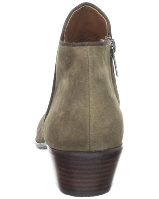 99c8c001566e1 ... Sam Edelman - Green Petty Ankle Boot - Lyst ...