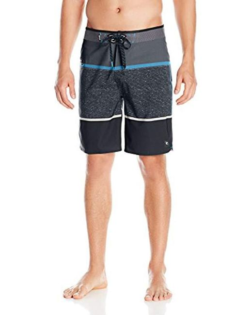 Rip Curl - Black Mirage Motive Ult Boardshort for Men - Lyst