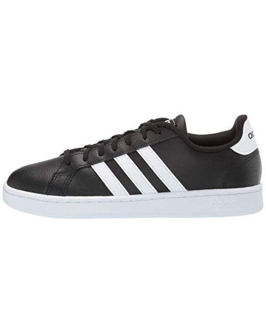 Men's Black Grand Court Shoes