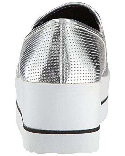 5ad795ca849 Lyst - Steve Madden Becca Sneaker in Metallic - Save 61%