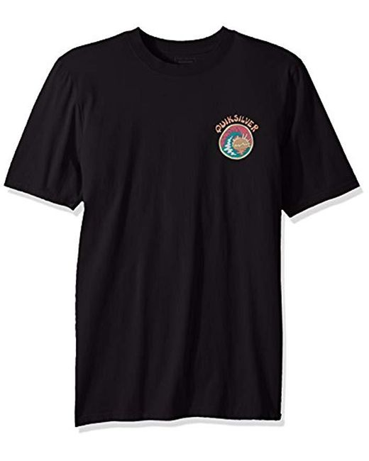 Quiksilver Black Hollow Sessions Tee for men