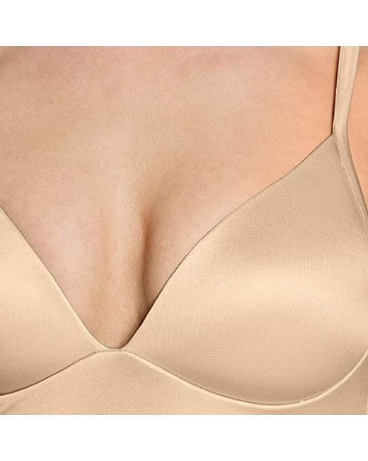 1368dfb1595a8 ... Mae - Natural Longline Lounge Light Support Bralette (for A-c Cups) -  Lyst