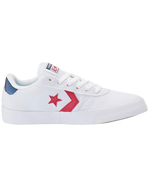 9e520e536b25c9 ... Converse - White Point Star Low Top Sneaker - Lyst ...