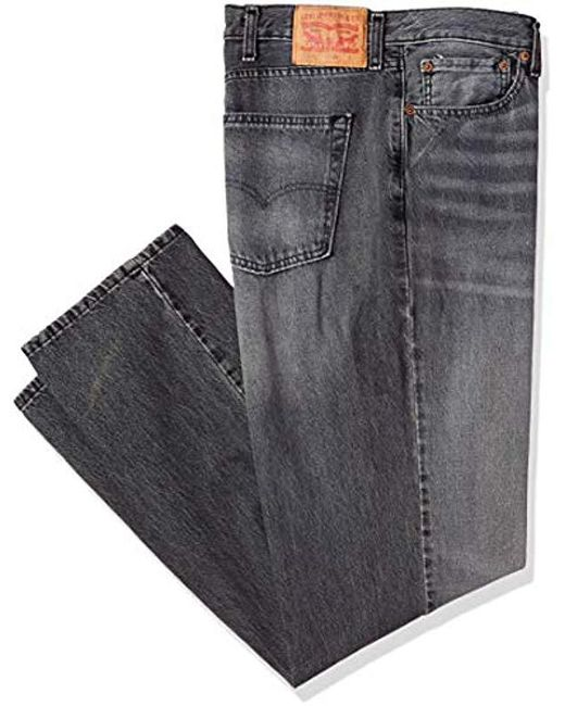 Levi's Gray Big & Tall 541 Athletic Fit Jean for men