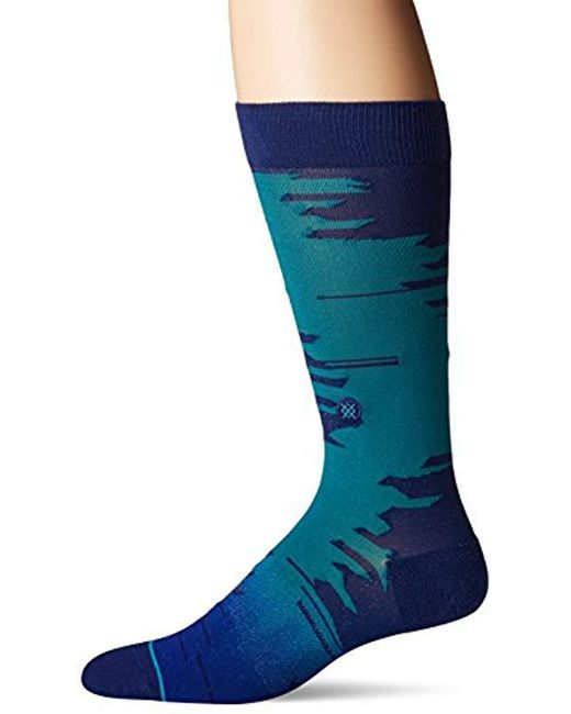 Stance - Thomas (light Blue) Men's Crew Cut Socks Shoes for Men - Lyst