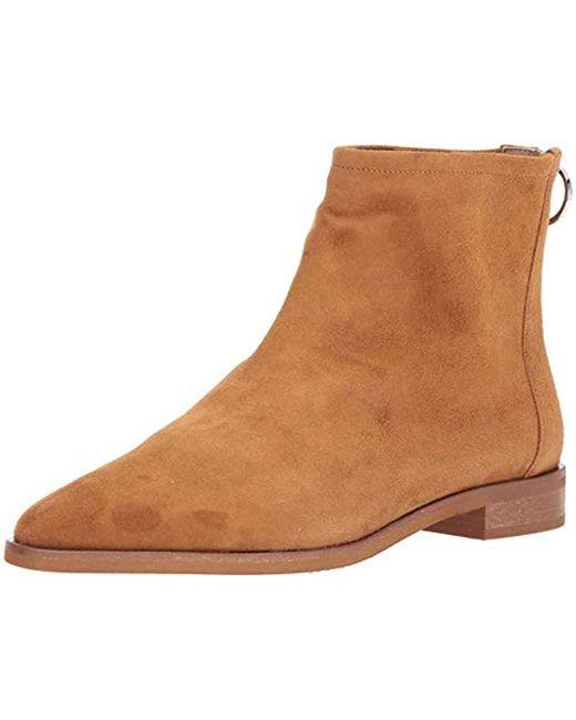 Via Spiga - Brown Edie Ankle Boot - Lyst