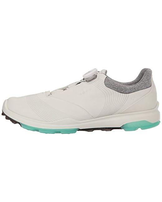 b6247a9c87ea Lyst - Ecco Biom Hybrid 3 Boa Gore-tex Golf Shoe in White - Save 9%