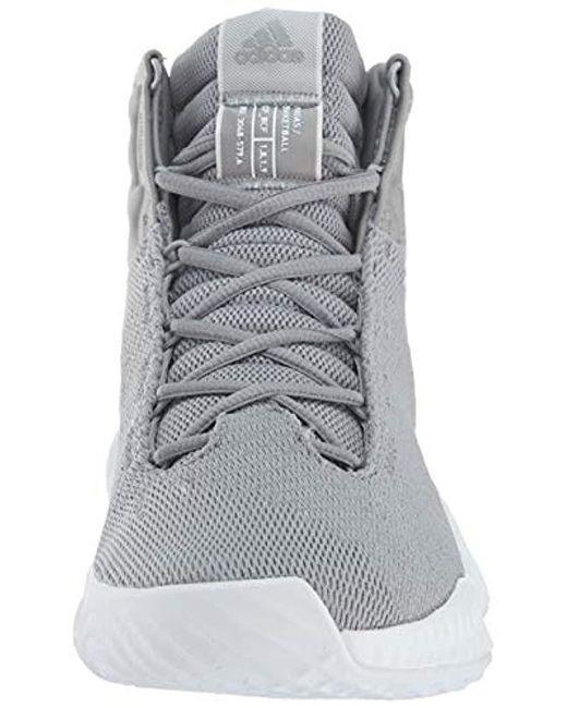 99ba15c7282 ... Adidas Originals - Gray Pro Bounce 2018 Basketball Shoe for Men - Lyst  ...
