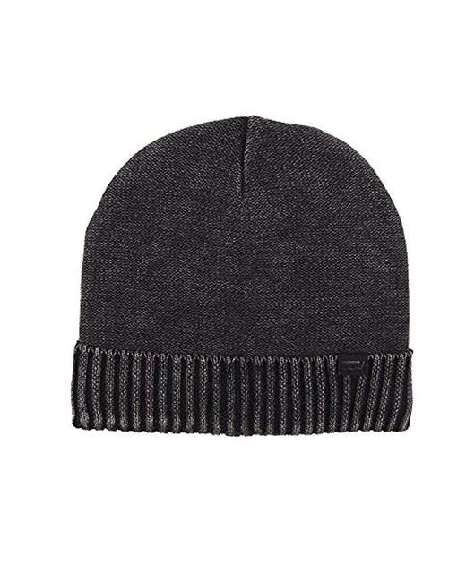 ece9886ced2d58 Levi's - Black Warm Winter Knit Skullie Beanie for Men - Lyst ...