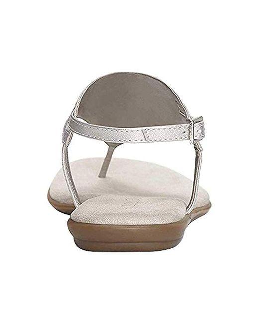 aa3f00ab421 Lyst - Aerosoles Chlose Friend Sandal in Metallic - Save 36%