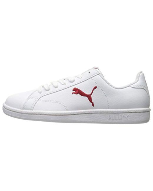 bd8e9b876c70 ... PUMA - White Smash Cat L Fashion Sneaker for Men - Lyst ...