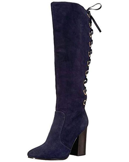 Nine West - Blue Calhoun Fashion Boot - Lyst