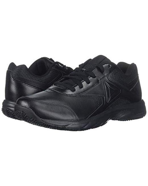 ... Reebok - Black Work N Cushion 3.0 4e Walking Shoe for Men - Lyst ... fb7b7576c