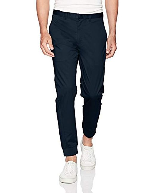 Armani Exchange - Blue | Twill Jogger for Men - Lyst