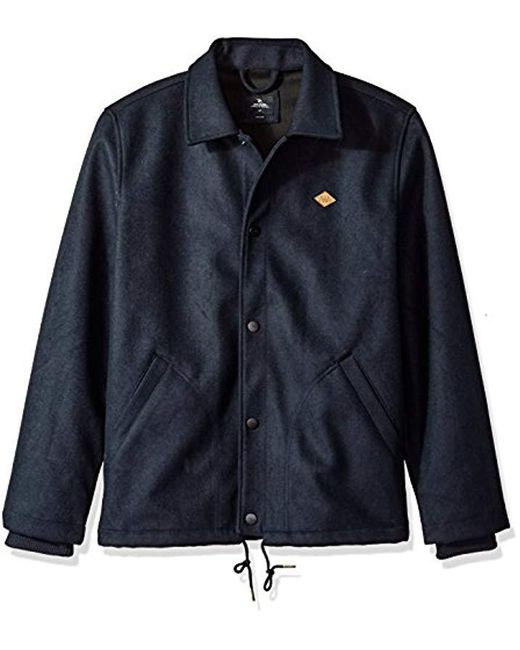 Rip Curl - Blue Stadium Jacket for Men - Lyst