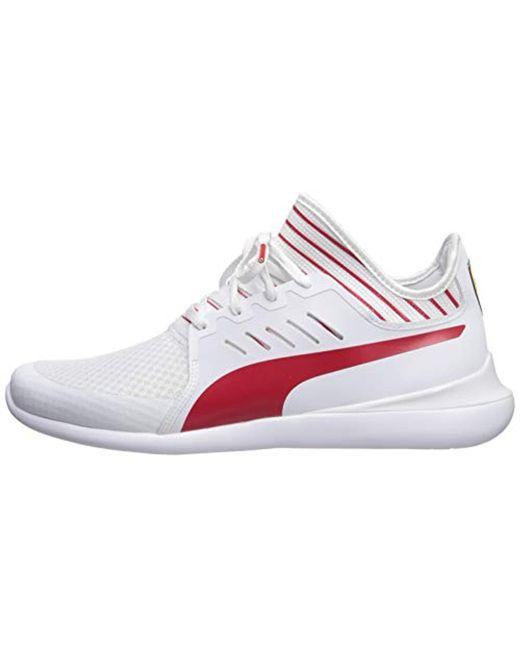 e751e39dfff7b2 ... PUMA - White Scuderia Ferrari Evo Cat Mace Sneakers for Men - Lyst ...