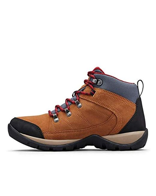 be851cc7e73 Columbia - Brown Fire Venture S Ii Mid Waterproof Hiking Shoe - Lyst