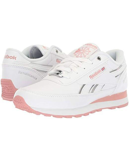 20293488d8516e ... Reebok - Classic Renaissance Shoe Casual Pink - Lyst ...