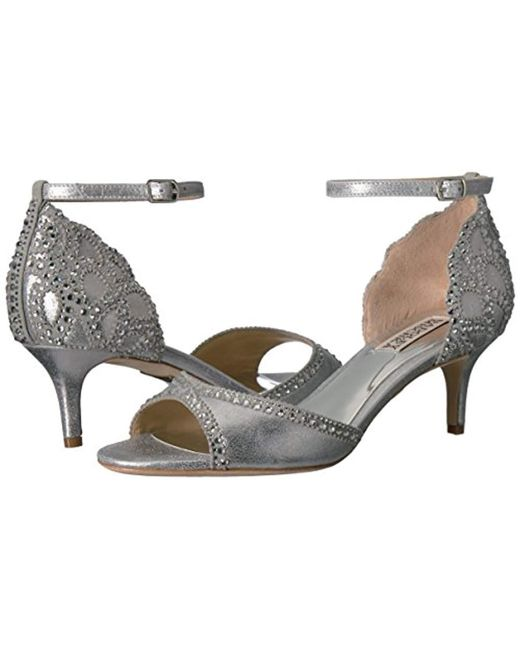 32ab9c5f9 Lyst - Badgley Mischka Gillian Dress Sandal in Metallic - Save 70%