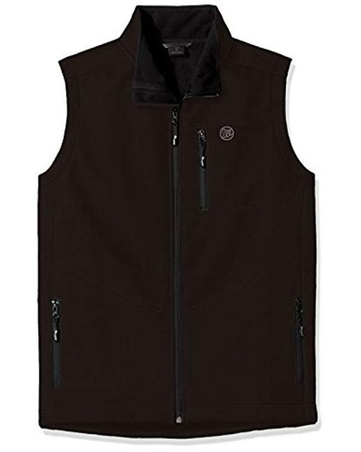 Wrangler - Black Water Repellent Trail Vest-big And Tall for Men - Lyst