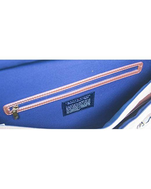 c0a1313999 ... Tommy Hilfiger - Multicolor Workhorse Dowel Flap-over Messenger Bag for  Men - Lyst ...