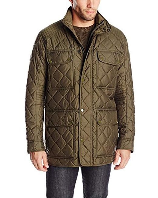 Marc New York - Green Essex Quilted Four-pocket Coat for Men - Lyst