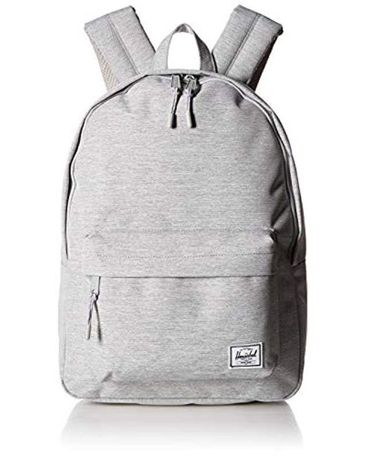 Herschel Supply Co. - Gray Classic Backpack - Lyst ... 89248fdc6ee94