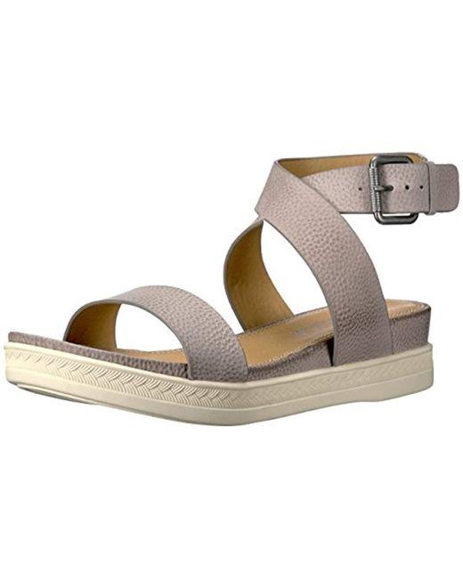 Splendid - Gray Julie Platform Sandal - Lyst