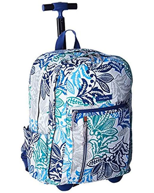 505edb241e7c Lyst - Vera Bradley Lighten Up Rolling Backpack