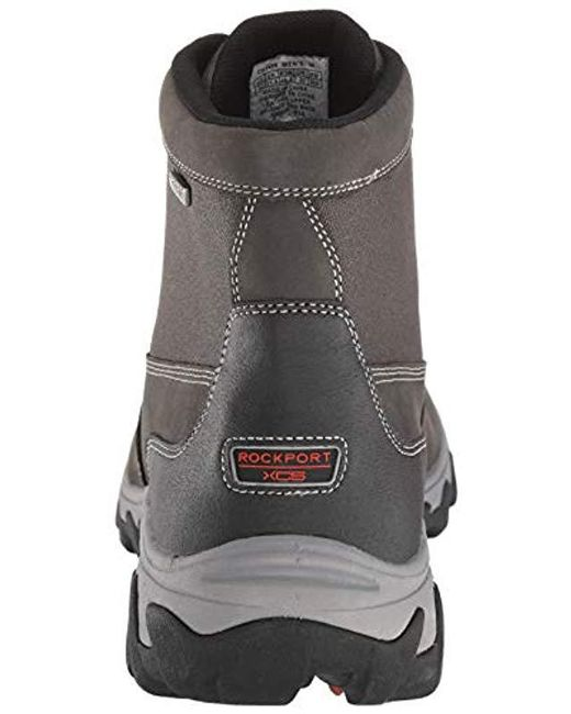 c2729d464951 ... Rockport - Gray Cold Springs Plus Waterproof Mid Boot (grey) Men s Shoes  for Men ...