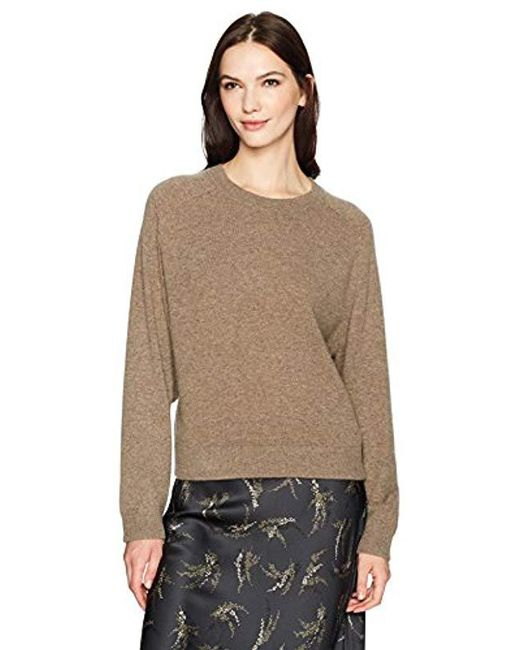Vince - Multicolor Wide Saddle Pullover Sweater - Lyst