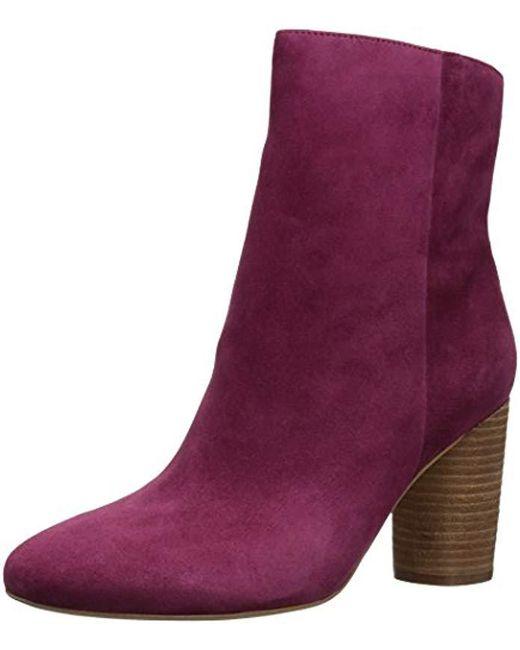 e7aa21ea067252 Sam Edelman - Purple Corra Ankle Boot - Lyst ...