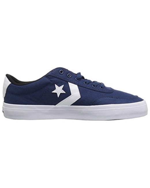 d8fec669d695 ... Converse - Blue Courtlandt Low Top Sneaker for Men - Lyst ...