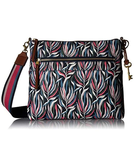 Fossil - Multicolor Fiona Large Crossbody Bag - Lyst
